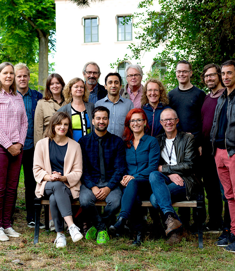 Group portrait of IBF researchers