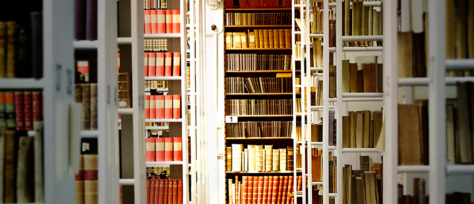 Books in the University Library Archive